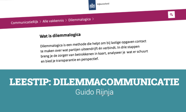 dilemma communicatie